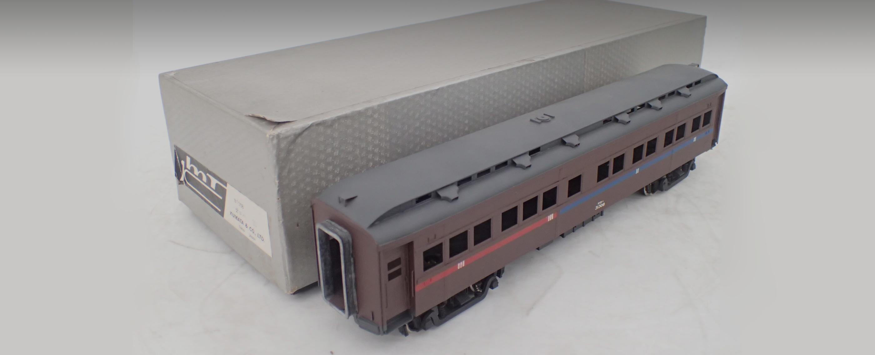 Oゲージの鉄道模型