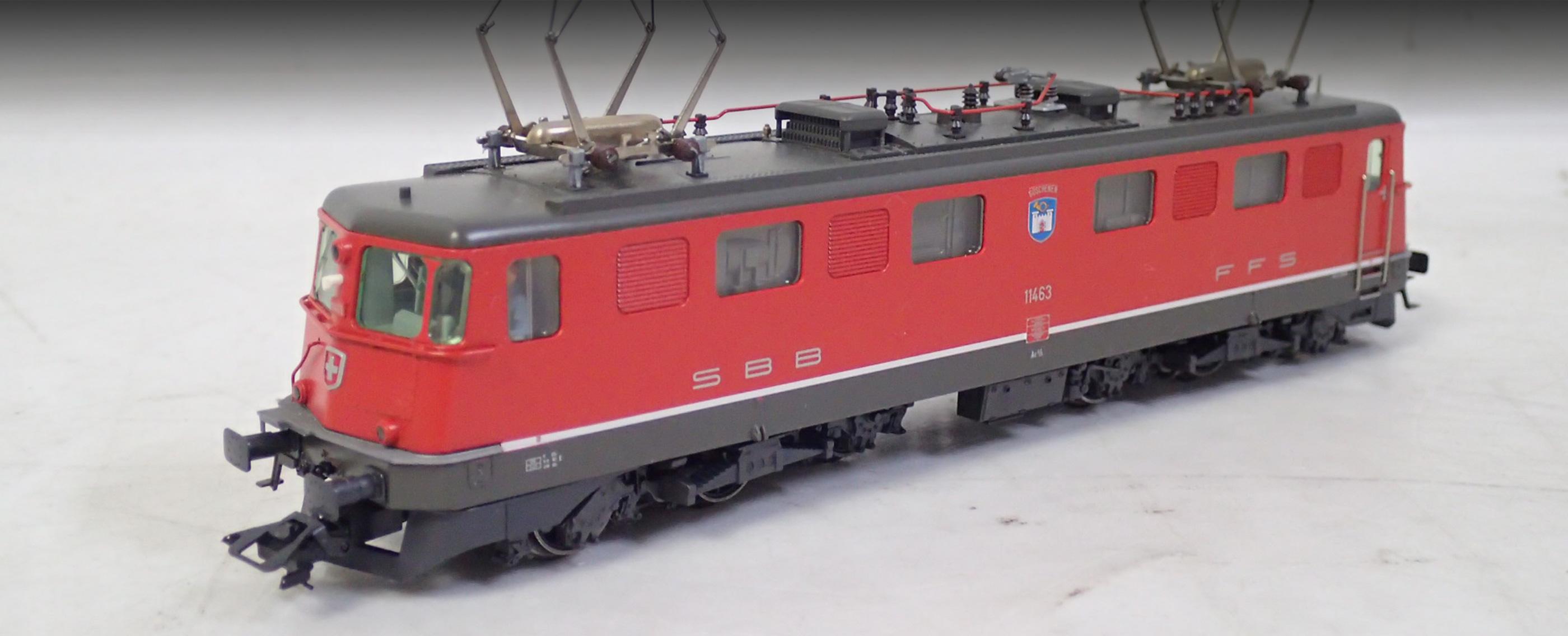 メルクリンの鉄道模型